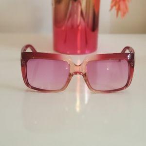 Versace Vintage Pink Sunglasses